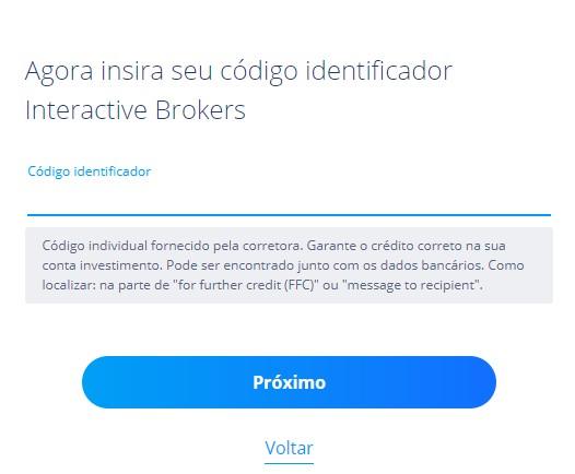 Saiba como encontrar o código identificador da Interactive Brokers