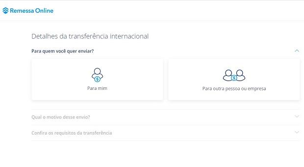 Como enviar dinheiro para uma corretora pela Remessa Online