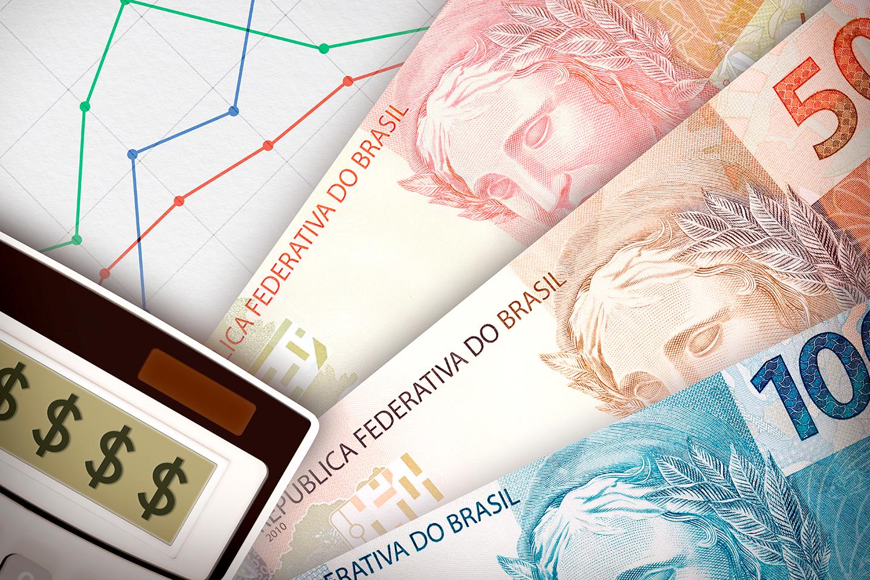 queda do real frente ao dólar