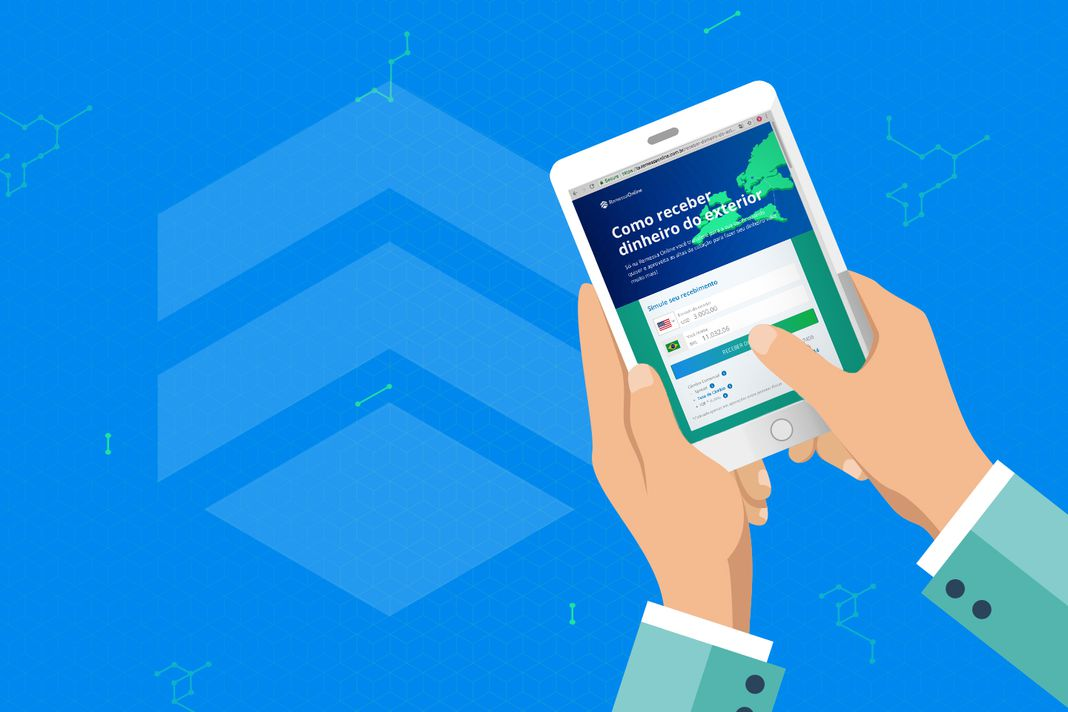 Como receber dinheiro do exterior pela remessa online passo a passo Remessa de dinheiro para o exterior