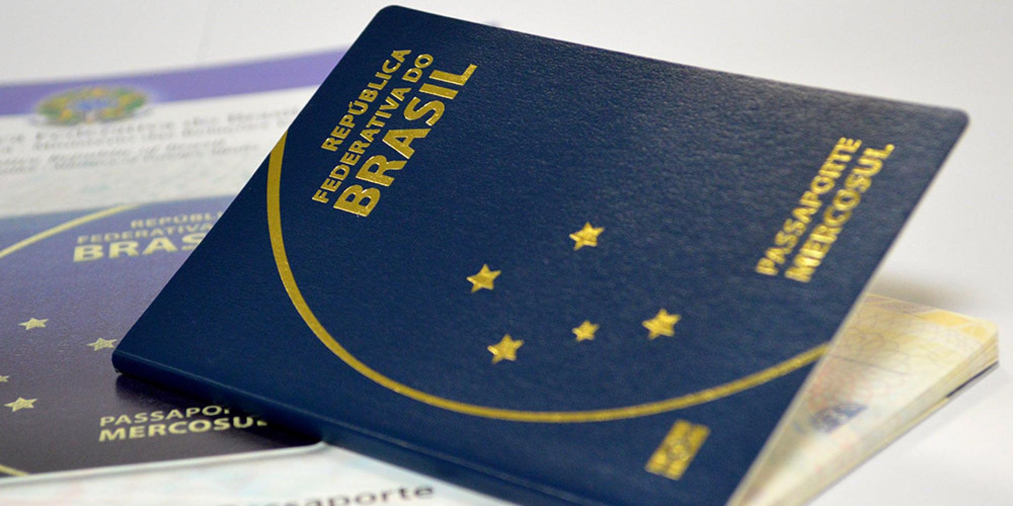 você pode usar o passaporte para abrir conta nos Estados Unidos