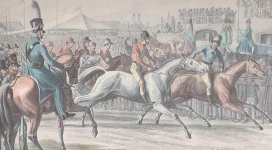 As corridas de cavalos remontam à tradição e história da Oktoberfest.