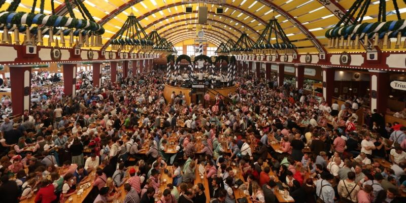 Em 2000, a Oktoberfest, em Munique, celebrou 200 anos de tradição.