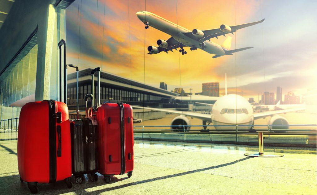Atente para as regras de bagagens de sua passagem.