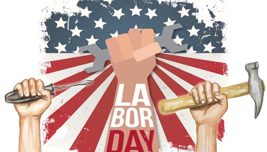 O Labor Day é um feriado nacional para exaltar a contribuição dos trabalhadores para o desenvolvimento econômico e social dos EUA.