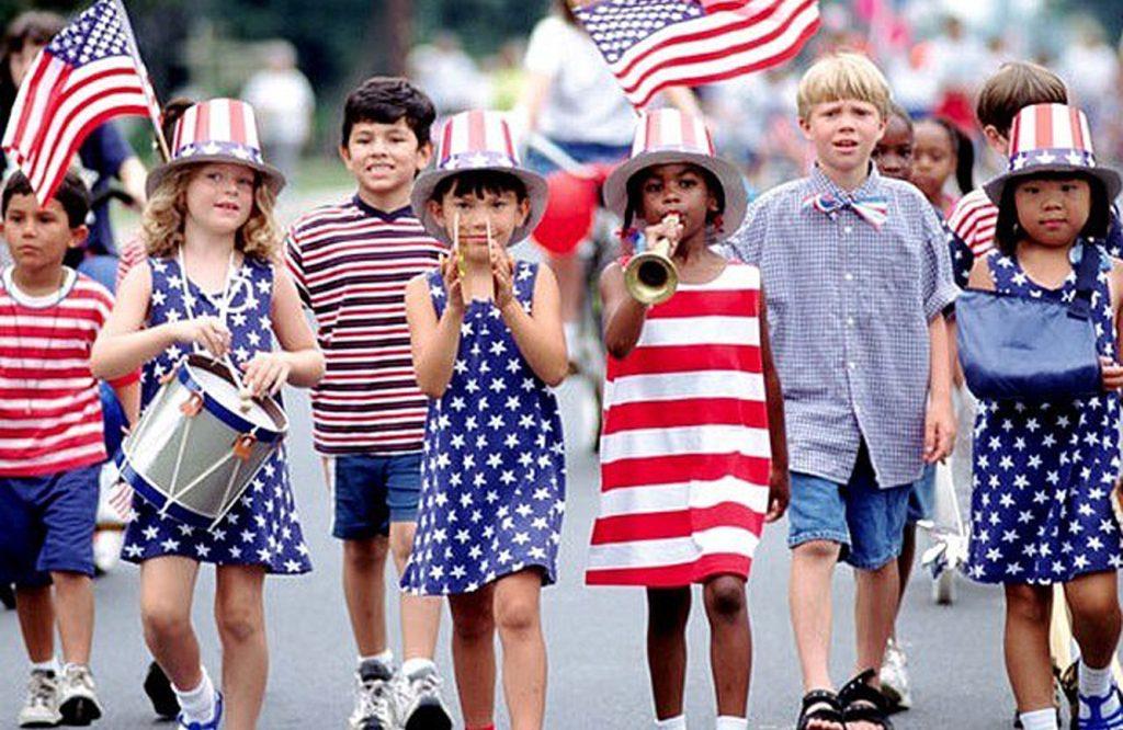 No dia 4 de julho os norte-americanos comemoraram a independência dos Estados Unidos, que em 1776 passou a não ser mais uma colônia britânica.