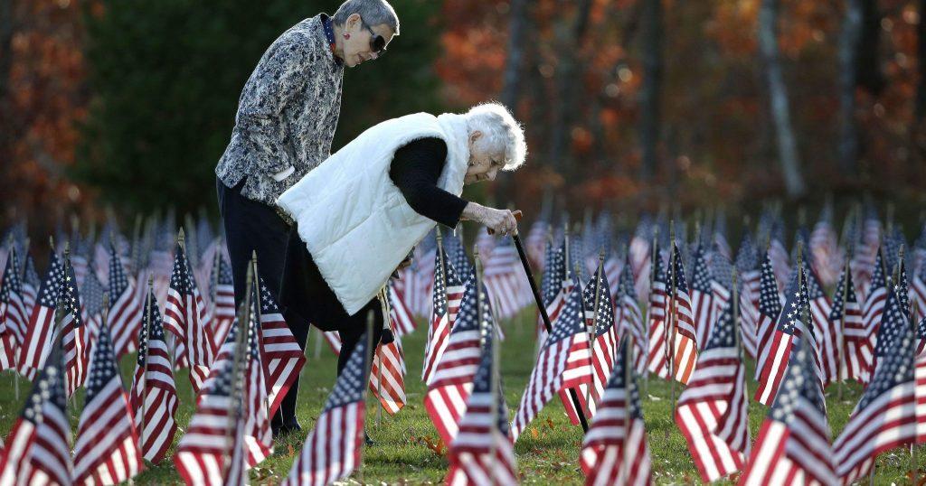 O Dia dos Veteranos é um dia para homenagear todos aqueles que serviram às Forças Armadas dos Estados Unidos.