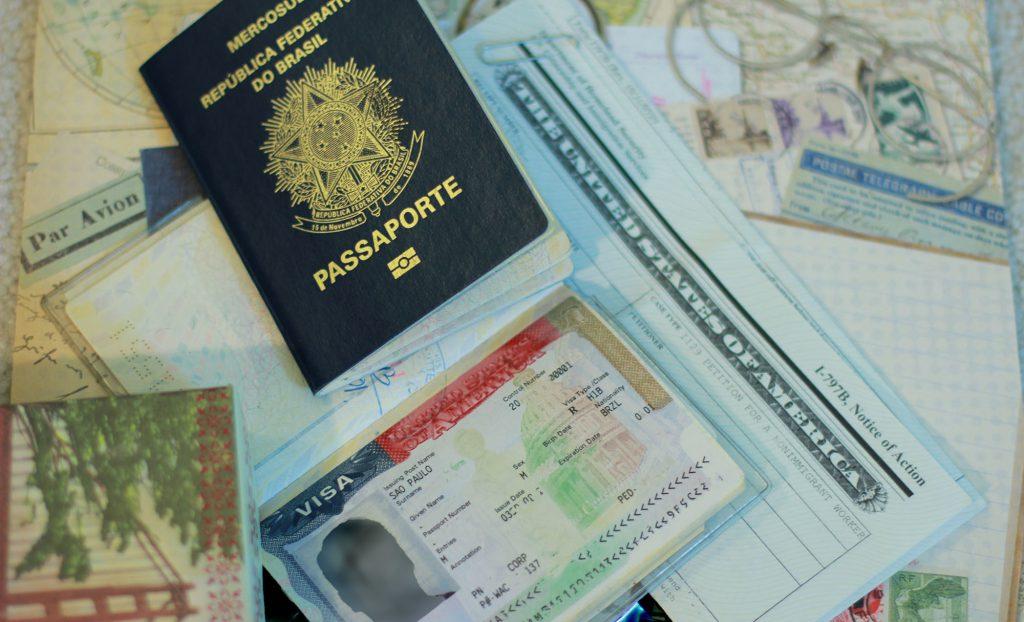 Há três tipos de vistos de trabalho norte-americanos.