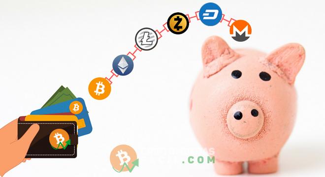 Nas carteiras digitais multi-moedas é possível fazer transações com bitcoins e também com outras criptomoedas em um só lugar.