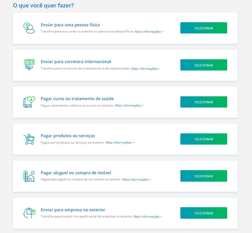 Diferente da Transferwise, na Remessa Online você pode enviar dinheiro como pessoa física ou pessoa jurídica, para qualquer pessoa!