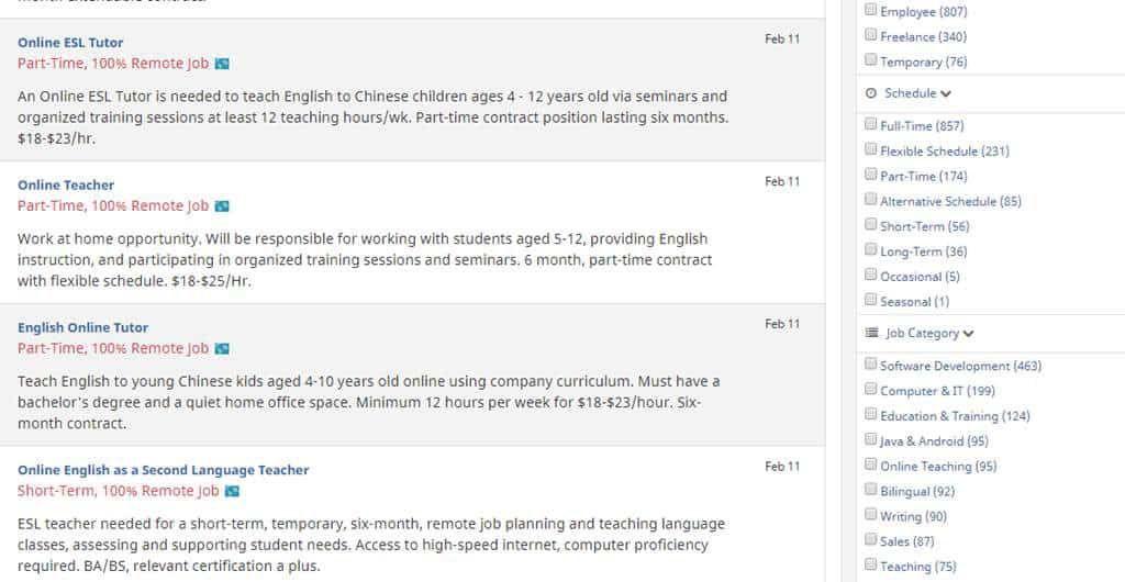 FlexJobs Categorias e Exemplos 1024x530 - Trabalho Freelancer no Exterior: Conheça os principais sites!