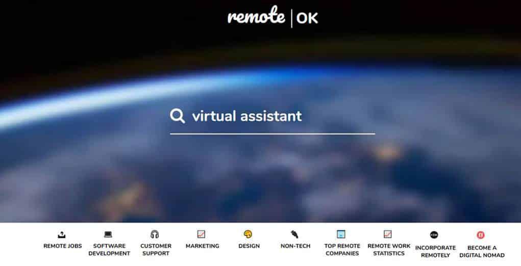 Remote OK - Trabalho Freelancer no Exterior: Conheça os principais sites!