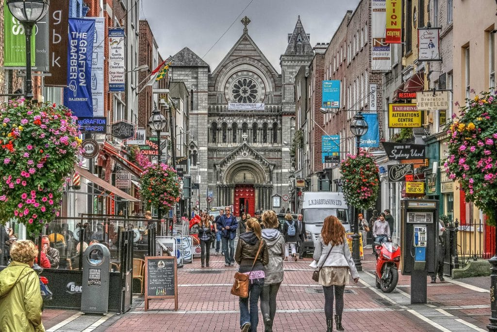 Dublin é a capital do país e a cidade mais popular entre turistas!