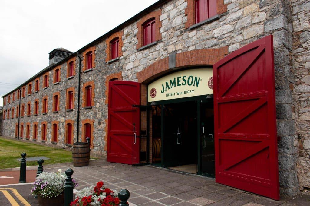 A fabrica da Jameson é um dos locais mais famosos de Cork.