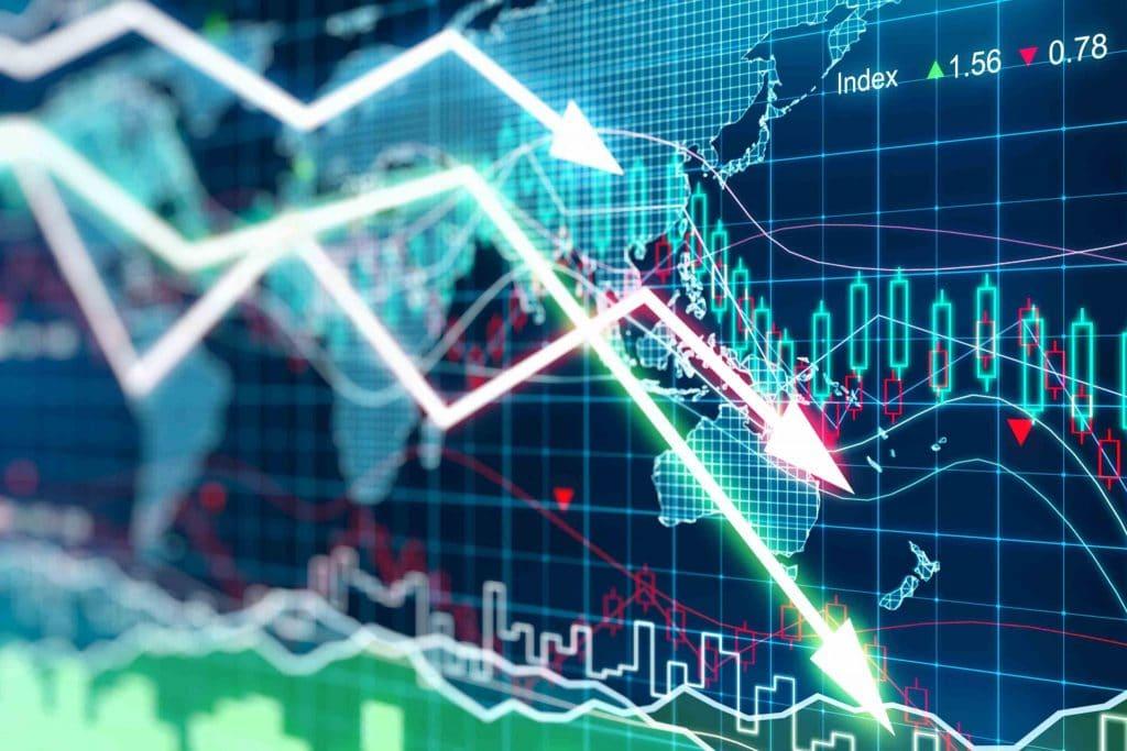 Investimento estrangeiro em queda