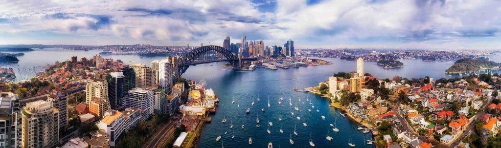 Visão geral de Sydney