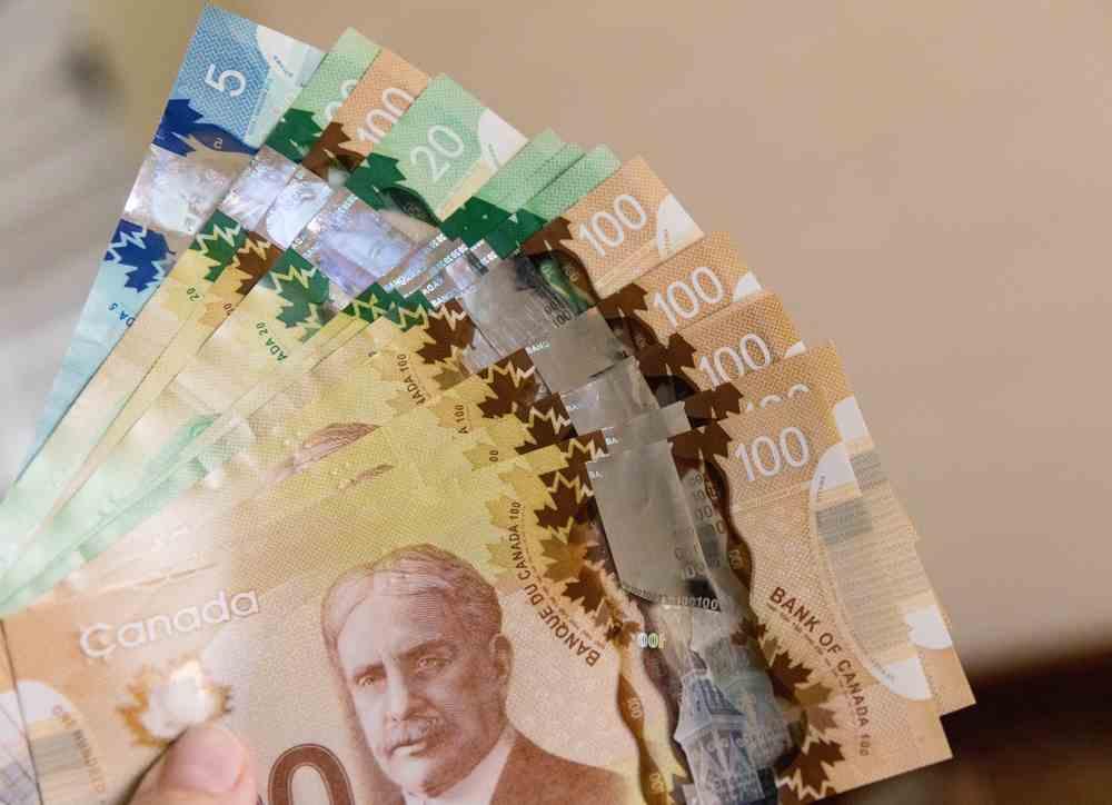 O CAD é a moeda utilizada no Canadá