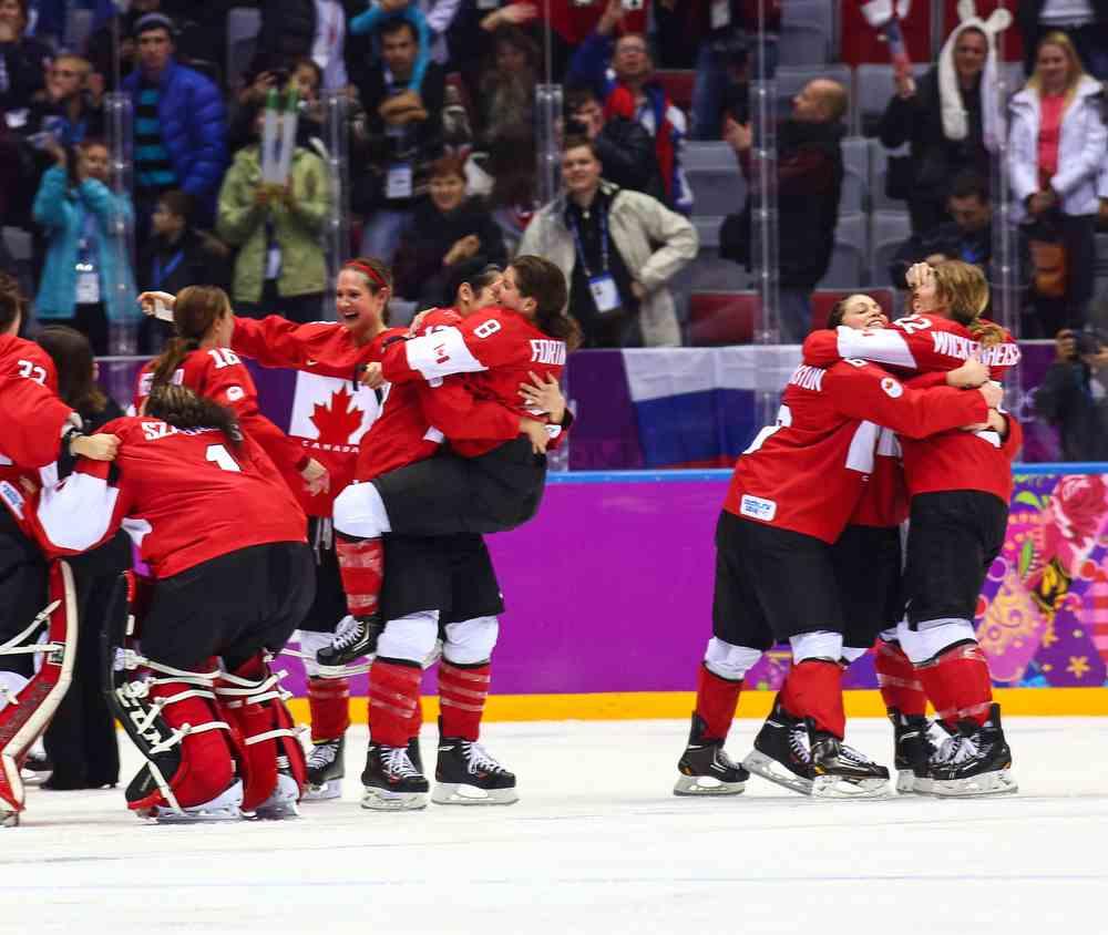 O Hockey é um dos esportes mais populares do Canadá