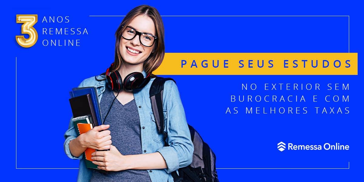 Agora pagar seu curso no exterior pela Remessa Online ficou mais fácil