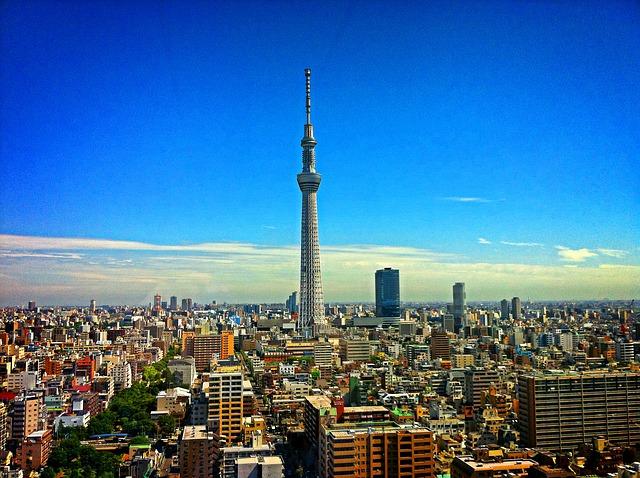 Tokyo Tower, a segunda maior estrutura artificial do Japão