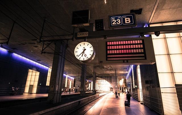 Uma boa alternativa para se deslocar na europa é viajar de trem