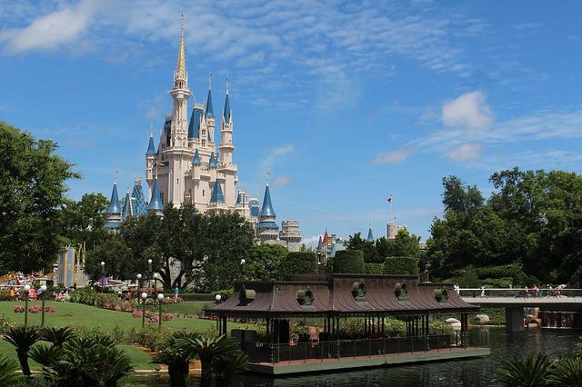 Orlando é o endereço de vários parques temáticos, como o Walt Disney World