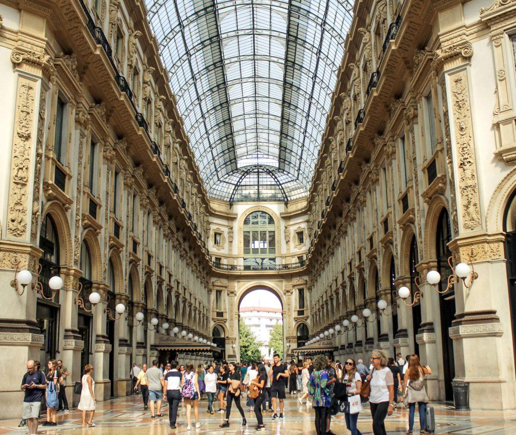 Como tirar Cidadania Italiana - Galleria Vittorio Emanuele II