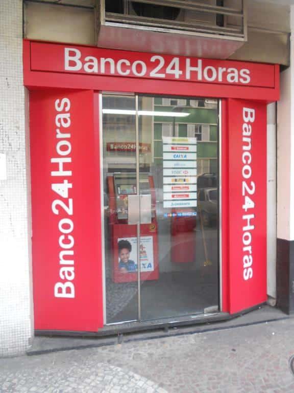 é possível fazer saques de valores da NuConta em uma unidade Banco24Horas