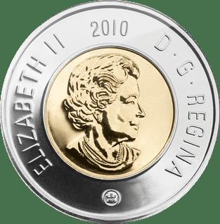 Moeda de 2 Dólares Canadenses (Toonie)