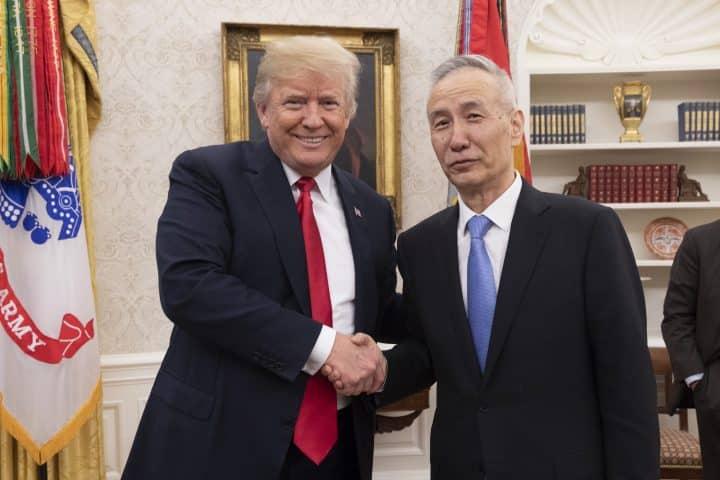 Negociações entre Estados Unidos e China influenciaram o câmbio