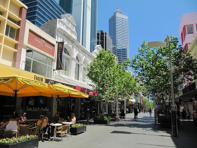 Austrália: o Commonwealth Bank oferece vários serviços online