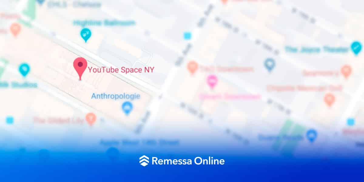 Saiba onde fica o Youtube Spaces