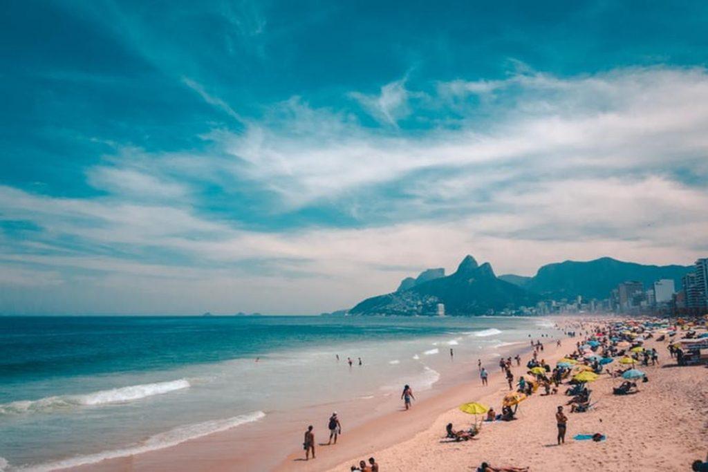 Copacabana tem uma das festas de Reveillon mais famosas do mundo.