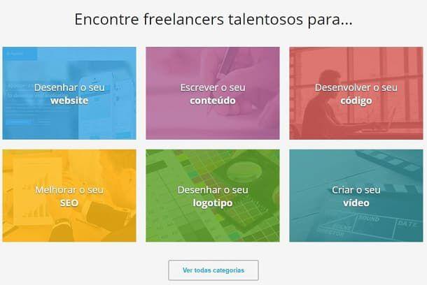interface da 99 freelas - Trabalho Freelancer no Exterior: Conheça os principais sites!
