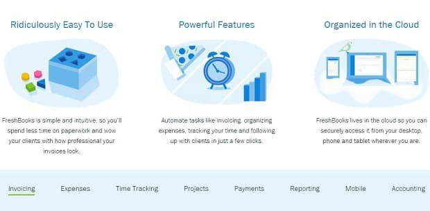 freshbooks softare para invoice online - Conheça os principais softwares para emissão de invoice