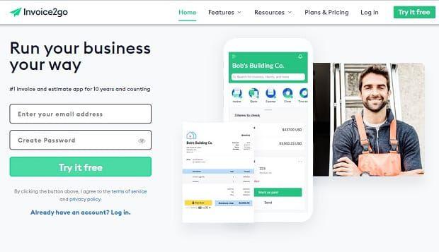invoice2go software invoice online - Conheça os principais softwares para emissão de invoice