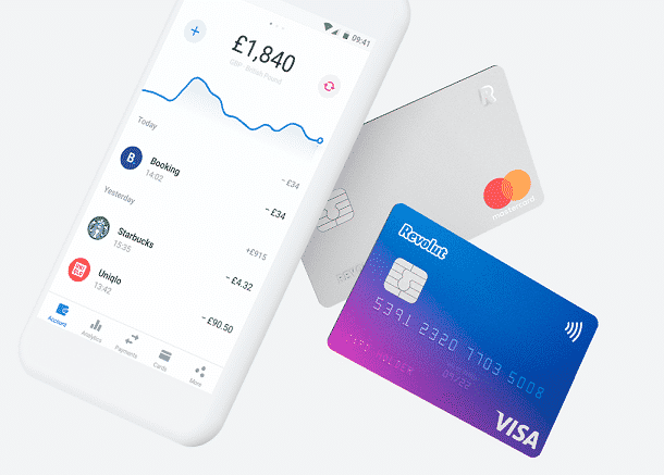 A Revolut oferece uma gama de serviços bancários, mas apenas residentes na Europa podem abrir uma conta digital na fintech.