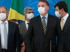 A política fiscal expansionista adotada para socorrer as vítimas do coronavirus terá qual impacto no câmbio? Crédito Carolina Antunes/PR