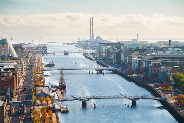 Dublin é a capital e maior cidade da Irlanda.