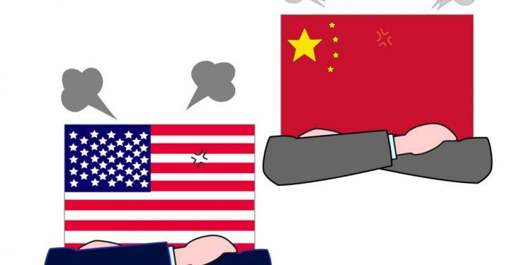 tensão china eua