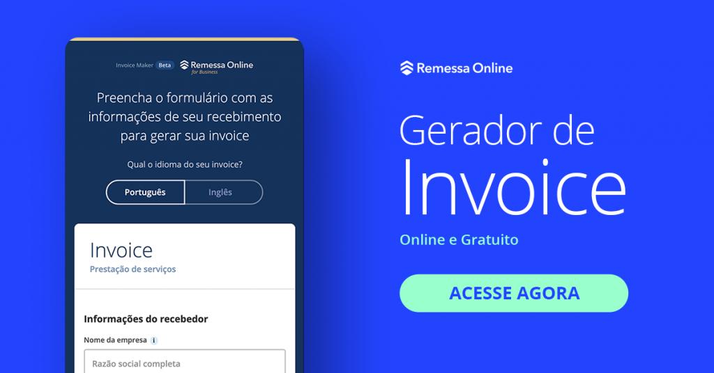 remessa online gerador Invoice 1024x536 - Conheça os principais softwares para emissão de invoice