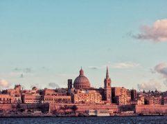 Estudar em Malta: vista da cidade de Valletta, em Malta